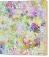 Floral Art Lviii Wood Print