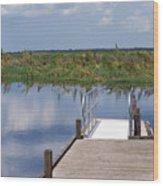 Florida Backwater Wood Print