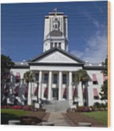 Florida State Capitol Building Wood Print