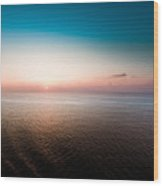 Florida Sunset Wood Print by Ryan Kelly