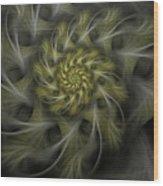 Flower Of Hope Wood Print