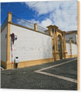Fonte Bela Palace - Azores Wood Print
