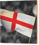 Football World Cup Cheer Series - England Wood Print