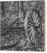 Forgotten Wagon Wood Print