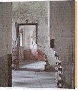 Fort Warren 7114 Wood Print