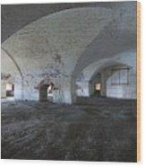 Fort Warren 7124 Wood Print