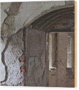 Fort Warren 7159 Wood Print