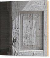 Fort Warren Door 7150 Wood Print