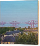 Forth Bridge, Scotland Wood Print