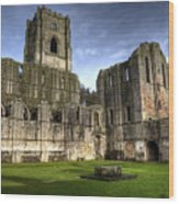 Fountains Abbey 6 Wood Print