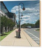 Fredericksburg Rail Station Wood Print