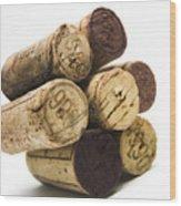 French Corks Wood Print