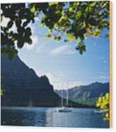 French Polynesia, Moorea Wood Print