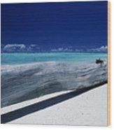 French Polynesia, Tetiaro Wood Print