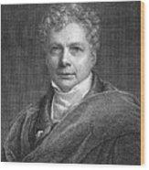 Friedrich W.j. Von Schelling Wood Print