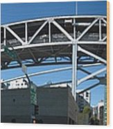 Frisco Bridge Wood Print