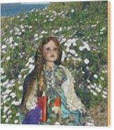 Gabriella Elizabeth Rossetti Wood Print