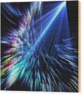 Gamma Ray Burst 2 Wood Print