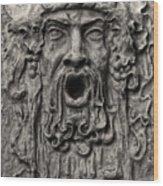 Gargoyle Wood Print