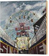 Gate Of Wonder Wood Print