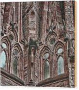 gaudi Barcelona Wood Print