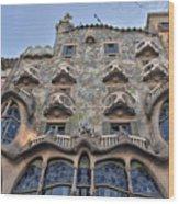 Gaudi Wood Print