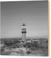 Gay Head Light Wood Print
