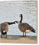 Geese Wood Print