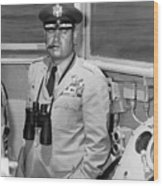 General Curtis Lemay Wood Print by War Is Hell Store