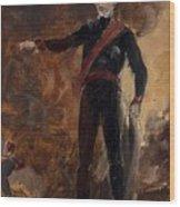 General Gebhard Leberecht Von Blucher Wood Print