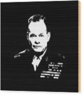 General Lewis Chesty Puller Wood Print