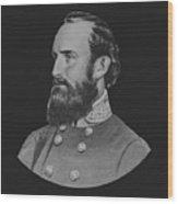 General Stonewall Jackson - Five Wood Print