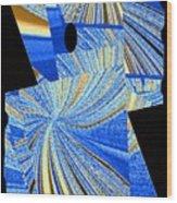 Geometric Abstract 2 Wood Print