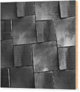 Geometrix Abstract Art Wood Print