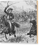 George Custer (1839-1876) Wood Print