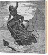 Giant Squid, 1879 Wood Print
