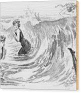 Gibson: Bather, 1902 Wood Print