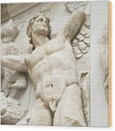 Gigantes  With Eros Wood Print