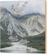 Glacier Bay Landscape Wood Print
