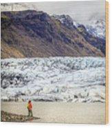Glacier Lagoon Wood Print
