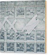 Glass Wall Wood Print