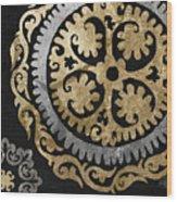 Glitterfish Iv Wood Print