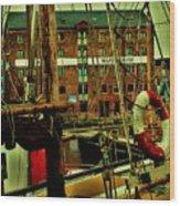 Gloucester Docks Wood Print