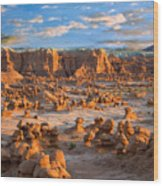 Goblin Valley State Park Utah Wood Print