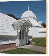 Golden Gate Conservatory Wood Print