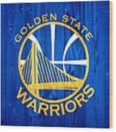 Golden State Warriors Door Wood Print