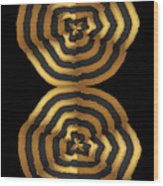 Golden Waves Hightide Natures Abstract Colorful Signature Navinjoshi Fineartartamerica Pixels Wood Print
