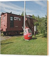 Gorham New Hampshire Wood Print