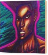 Grace Jones Wood Print