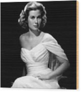 Grace Kelly, 1954 Wood Print by Everett